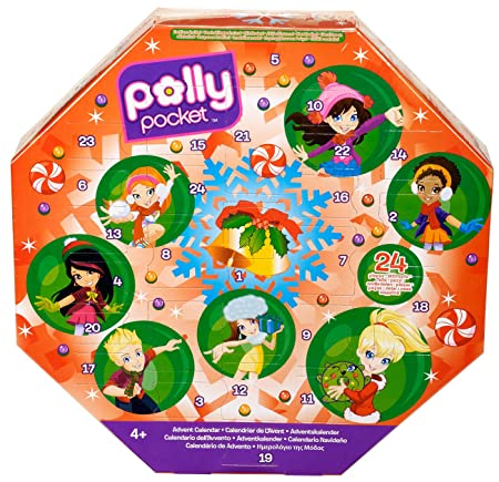 Mattel X 2456 - Calendrier de l`Avent Polly Pocket