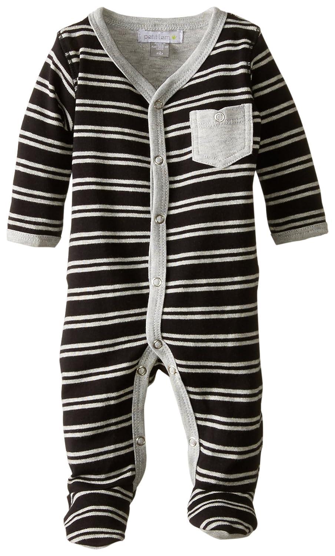 Petit Lem Baby-Boys Newborn Big City Striped Sleeper тренажер baby gym мини степпер lem ktb001