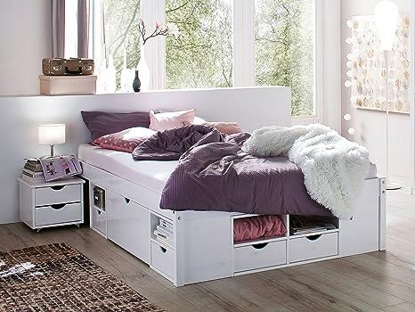 "Bett Doppelbett Ehebett Jugendbett Einzelbett ""Kelwin I"" (180x200 cm)"
