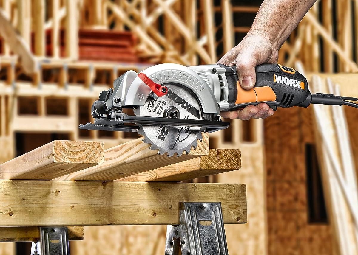 "WORX WORXSAW 4-1/2"" Compact Circular Saw – WX429L"