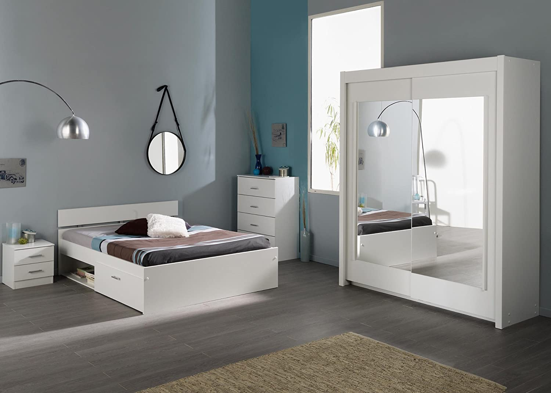 Jumbo-Möbel Schlafzimmer INFINITY 111 in Weiß jetzt bestellen