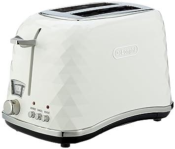 Delonghi Icona Brillante CTJ2003 900-Watt 2-Slice Toaster (White) at amazon