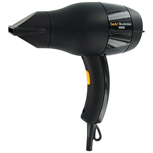 Sedu Revolution Pro Tourmaline Ionic 4000i Hair Dryer - Black