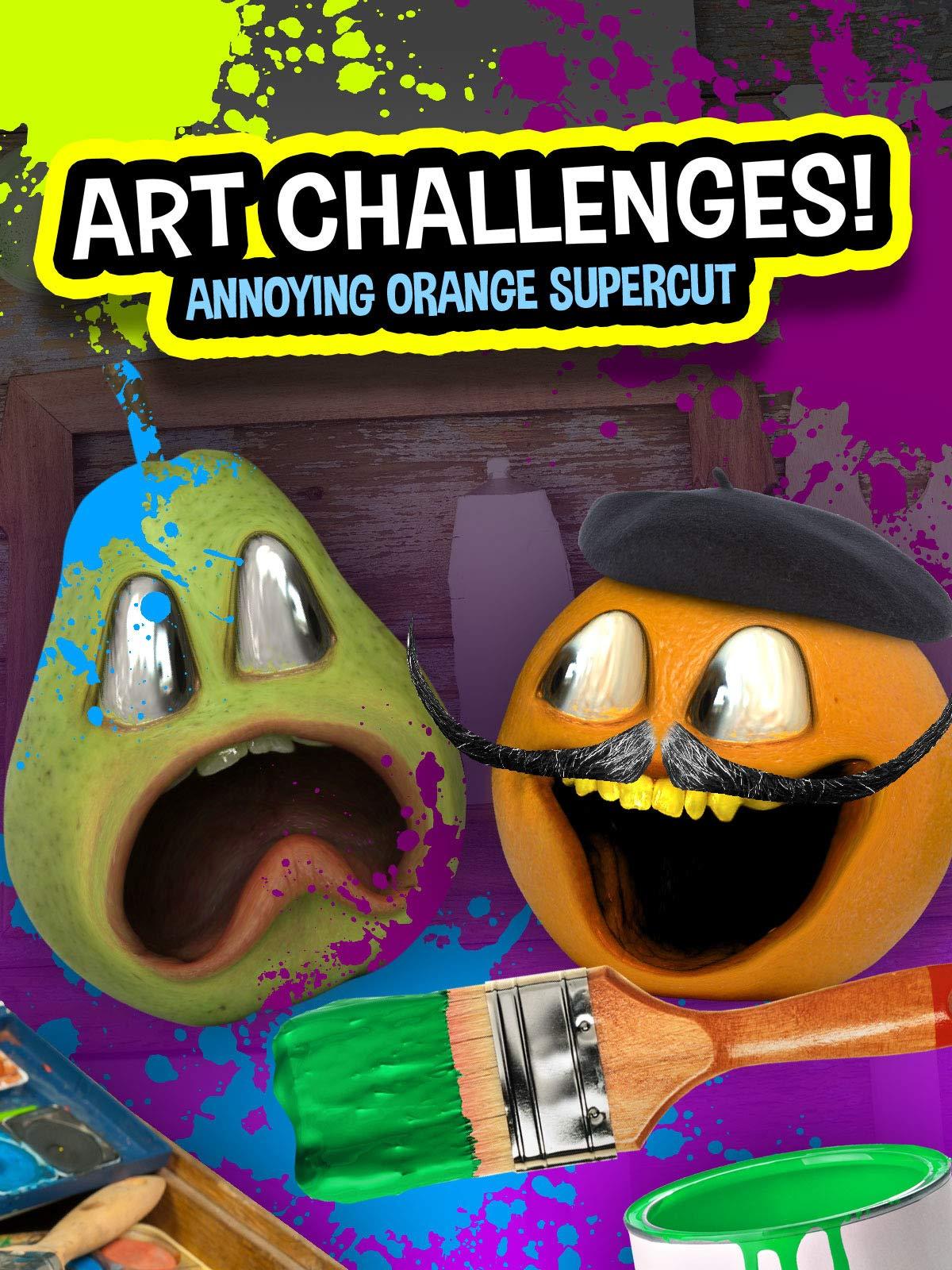 Art Challenges (Annoying Orange Supercut)