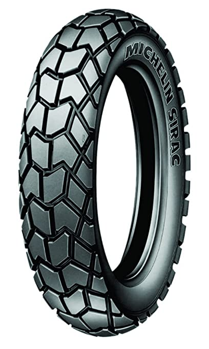 Michelin Sirac Street 100/90 - 17 55S Tubeless Bike Tyre, Rear