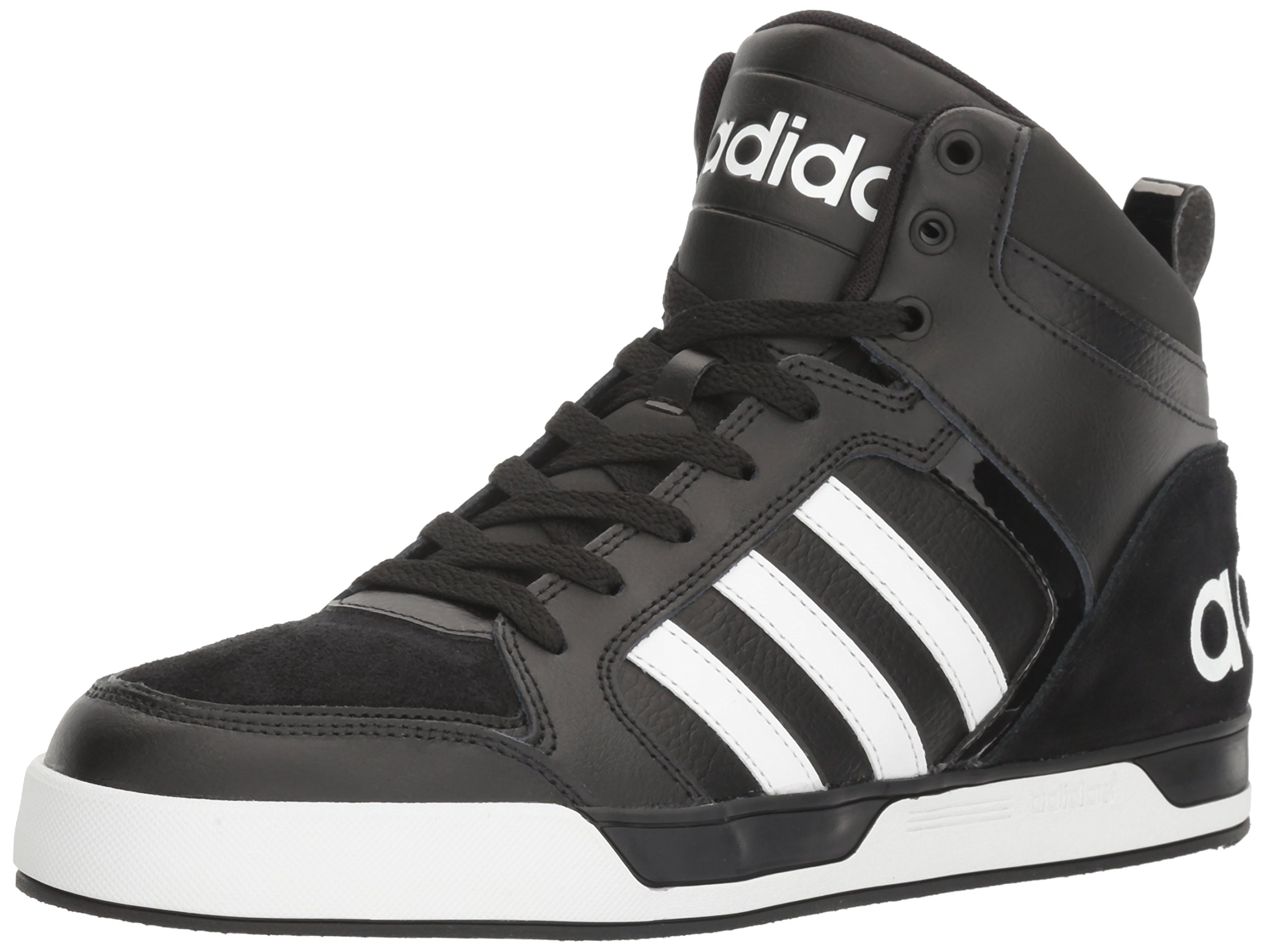 adidas neo men s raleigh 9tis mid fashion sneaker black white