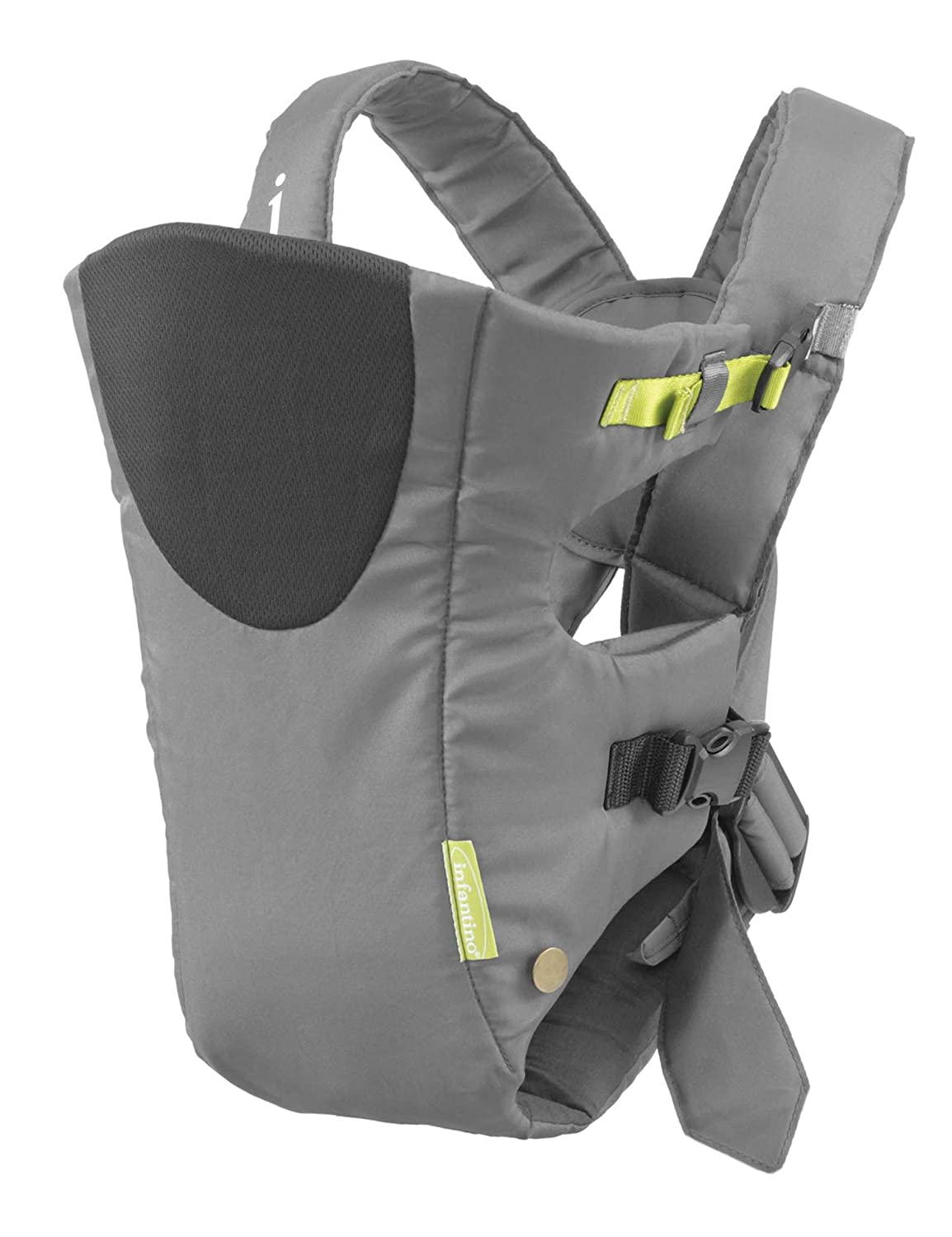 Amazon.com : Infantino Breathe Vented Carrier, Grey : Child Carrier Front Packs