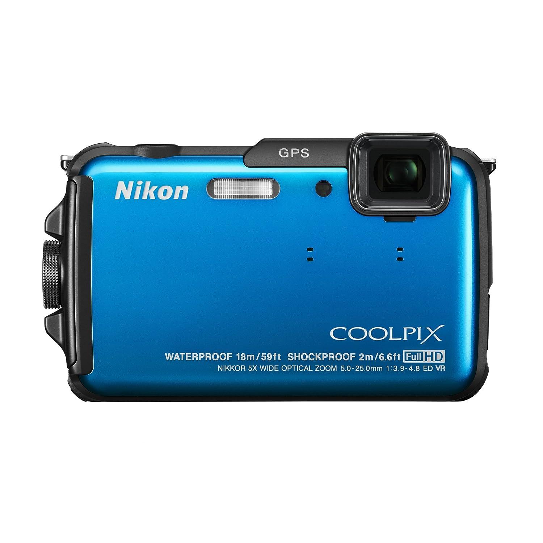 Máy ảnh chống nước Nikon COOLPIX AW110 16 MP Waterproof Digital Camera with Buil