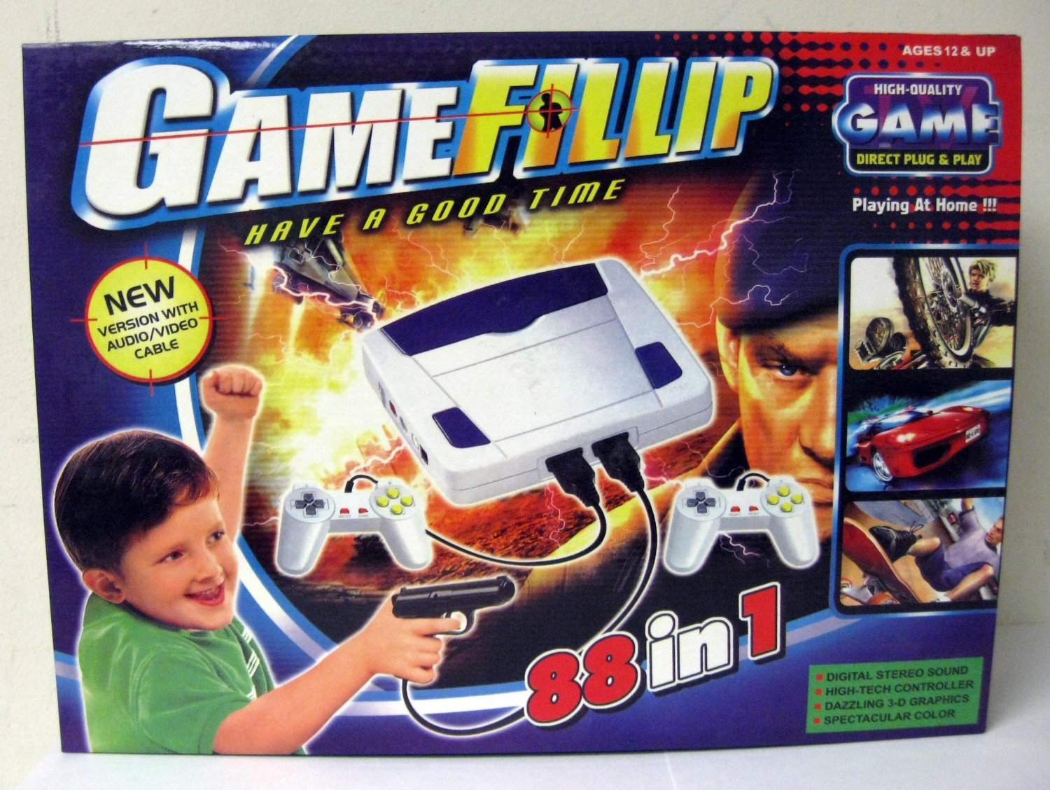 Finally! A game system for me!