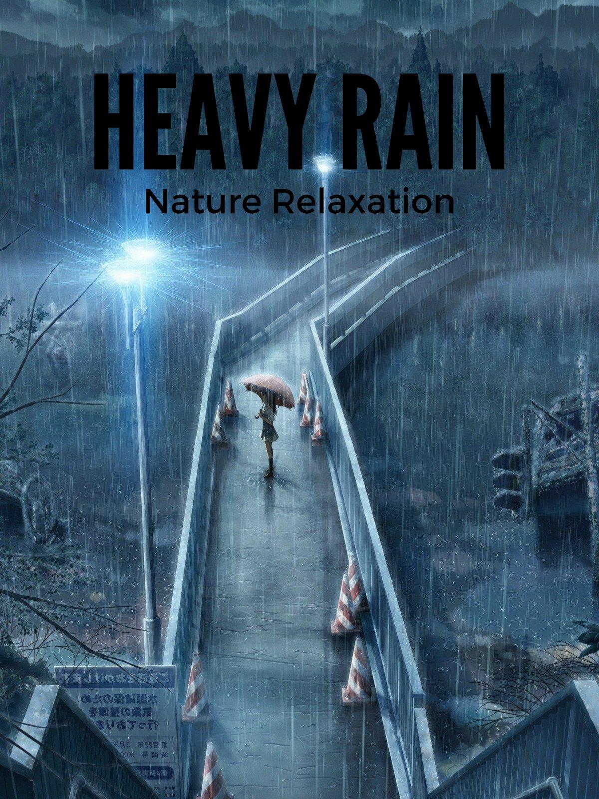 Heavy Rain Nature Relaxation