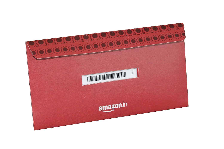 Amazon Gift Card Red Shagun Envelope
