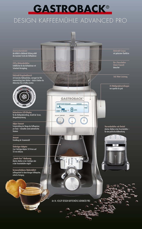 gastroback kaffeemühle