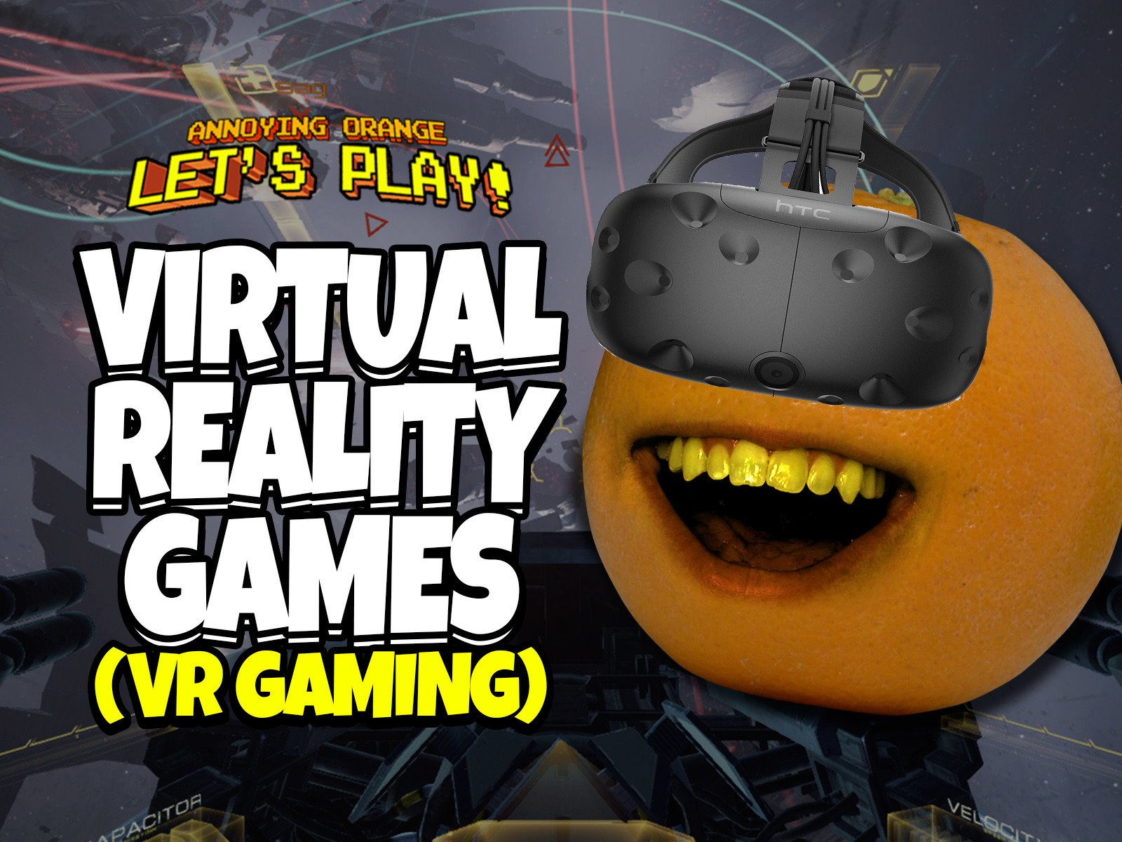 Clip: Annoying Orange Let's Play Virtual Reality Games (VR Gaming) - Season 1