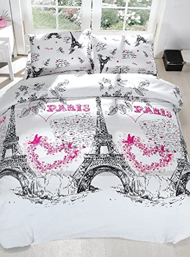 pink paris bedding totally kids totally bedrooms kids bedroom ideas. Black Bedroom Furniture Sets. Home Design Ideas