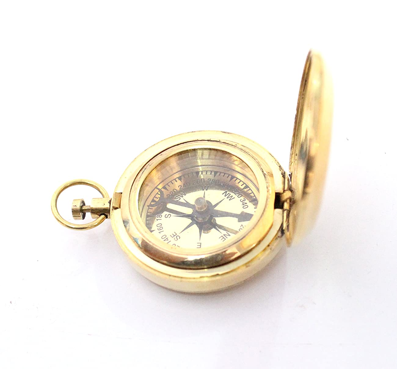 Nautical Collectible Retro Style Compass Decorative Gift Item Brass Finish Compass 2