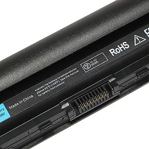Batterymarket High Performance Replacement Laptop Battery For Dell Latitude E6220 E6230 E6320 E6330 Series Dell FRR0G UJ499 TPHRG KJ321 Y61CV Battery - 12 Months Warranty [Li-ion 11.1V 5200mAh] (Tamaño: 6 Cell)