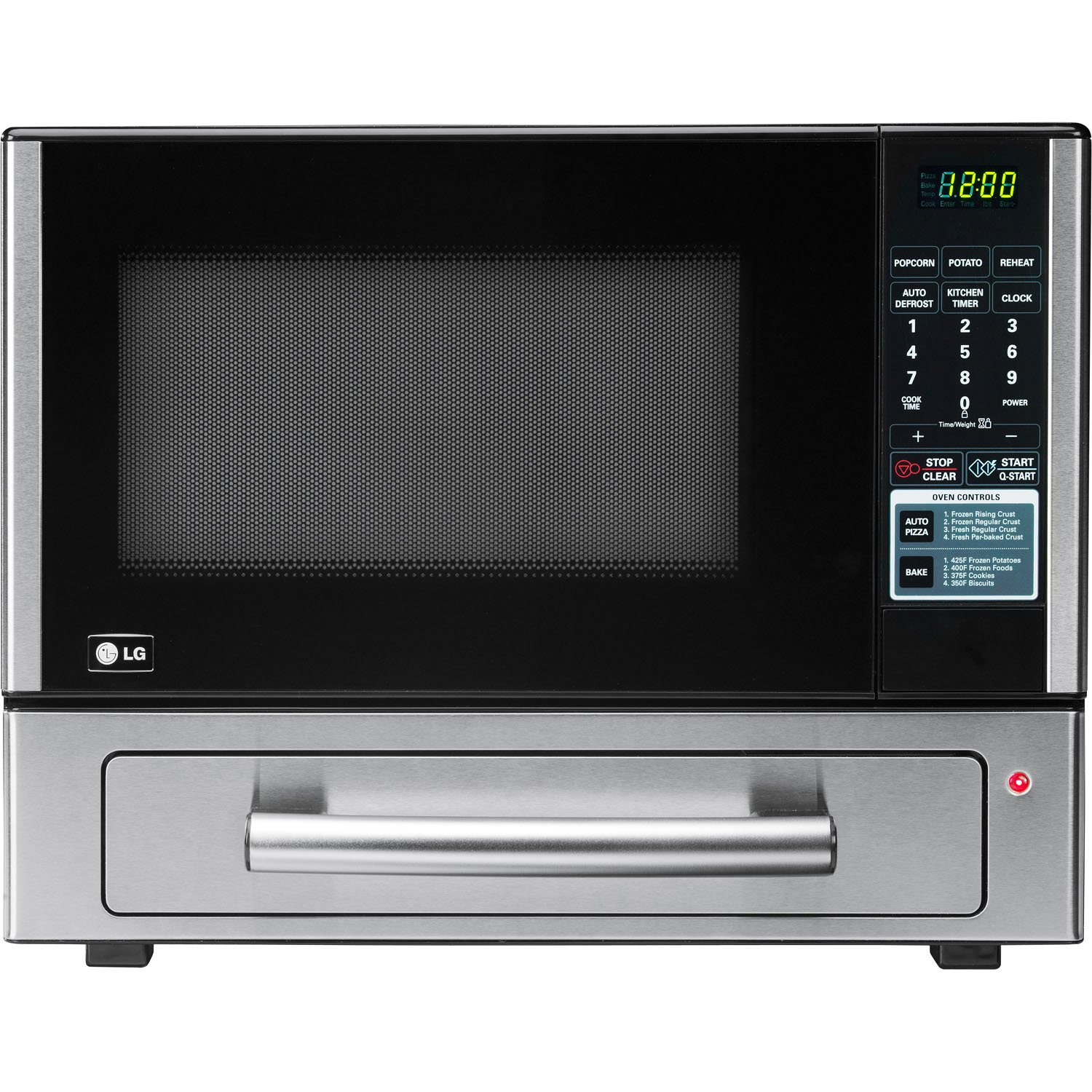 Countertop Oven Best : ... Cu Ft Counter Top Combo Microwave and Baking Oven, Stainless Steel
