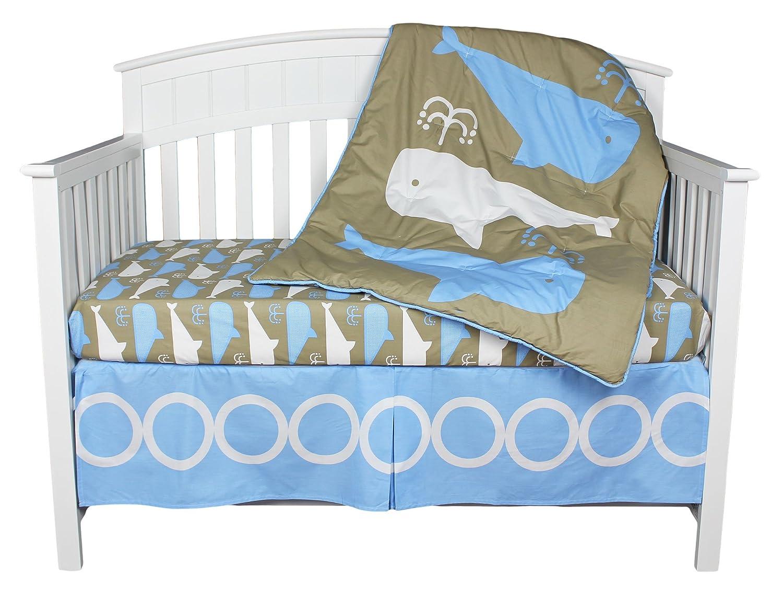 Kidsline Whales Crib Bedding