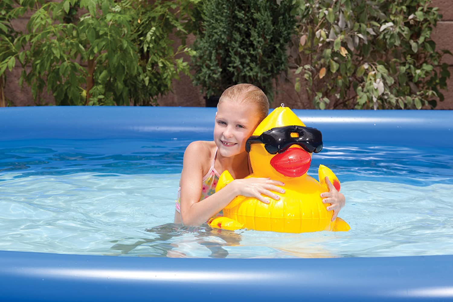 Game 5001 inflatable derby duck pool toy new free - Amazon inflatable swimming pool toys ...