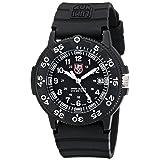Luminox Men's 3001 Quartz Navy Seal Dive Watch (Color: Black)