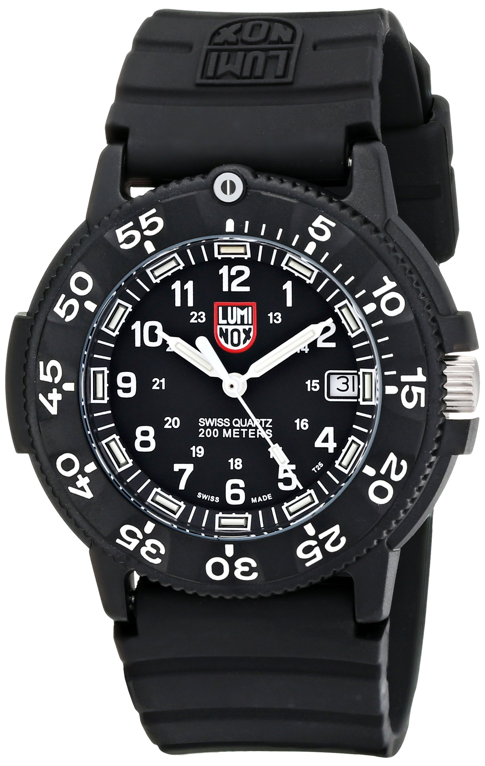 Luminox men 39 s 3001 original navy seal dive watch ebay for Luminox watches