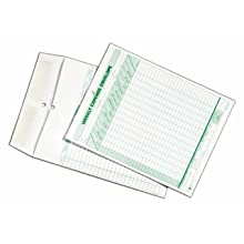 TOPS 1242 Weekly Expense Envelope, 8-1/2 X 11, 20 Envelopes Per Pack