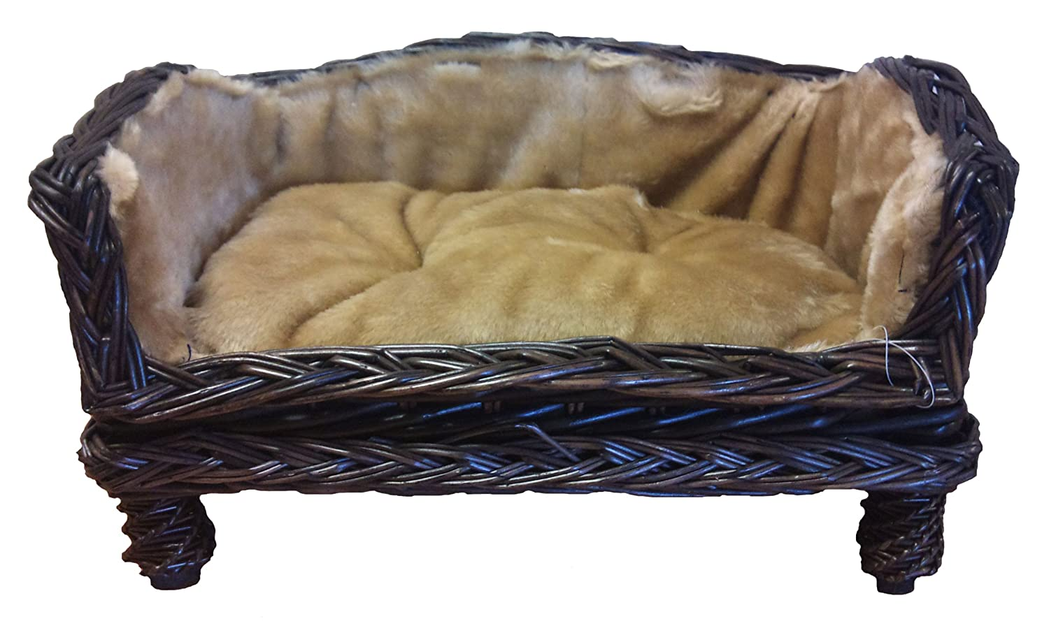 FAB Raised Wicker Sofa for Cats