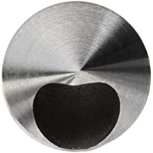 "Magafor 414 Series Cobalt Steel Double-End Countersink, Uncoated (Bright) Finish, Zero Flute, 82 Degrees, 0.25"" Shank Diameter, 0.25"" Body Diameter"