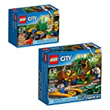 LEGO City Jungle Explorers Jungle Explorers Building Kit (141 Piece)