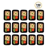 Freshware YH-1X150B Meal Prep [150 Pack] 1 Compartment with Lids, Food Storage Containers Bento BPA Free | Stackable | Lunch Boxes, Microwave/Dishwasher/Freezer Safe, 150-Pack, (Color: 1-Compartment, 150-Pack, Tamaño: 150-Pack)
