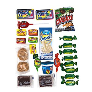Colombian Snacks Sampler Variety Box Chips /& Candies Assortment Pack Cookies