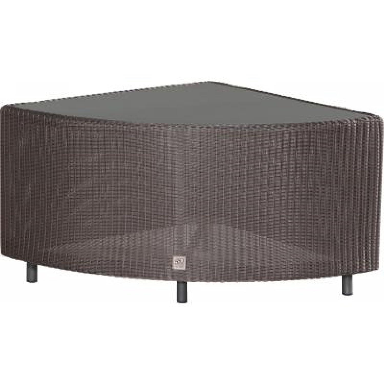 4Seasons Outdoor Aspen Lounge Ecktisch polyloom titanium jetzt kaufen