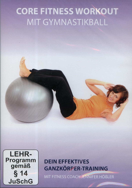 Ganzkörper-Training mit dem Gymnastikball