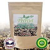 Jiaogulan Tea Organic Gynostemma Pentaphyllum Herbal Tea With Anti-Aging And Antioxidant Properties - 1.6 oz Natural Caffeine Free Leaves For Longevity And Balance - Made In Thailand By Thida (Tamaño: 1.6 oz)