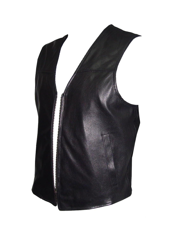 Paccilo GRATIS tailor Herren 1033 PREMIUM Klasse Lammskin Leder Weste