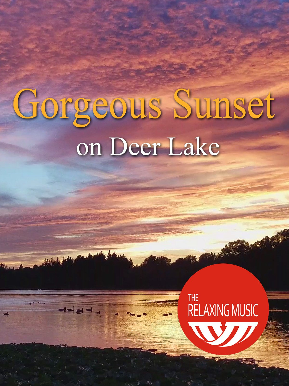 Gorgeous Sunset on Deer Lake on Amazon Prime Instant Video UK