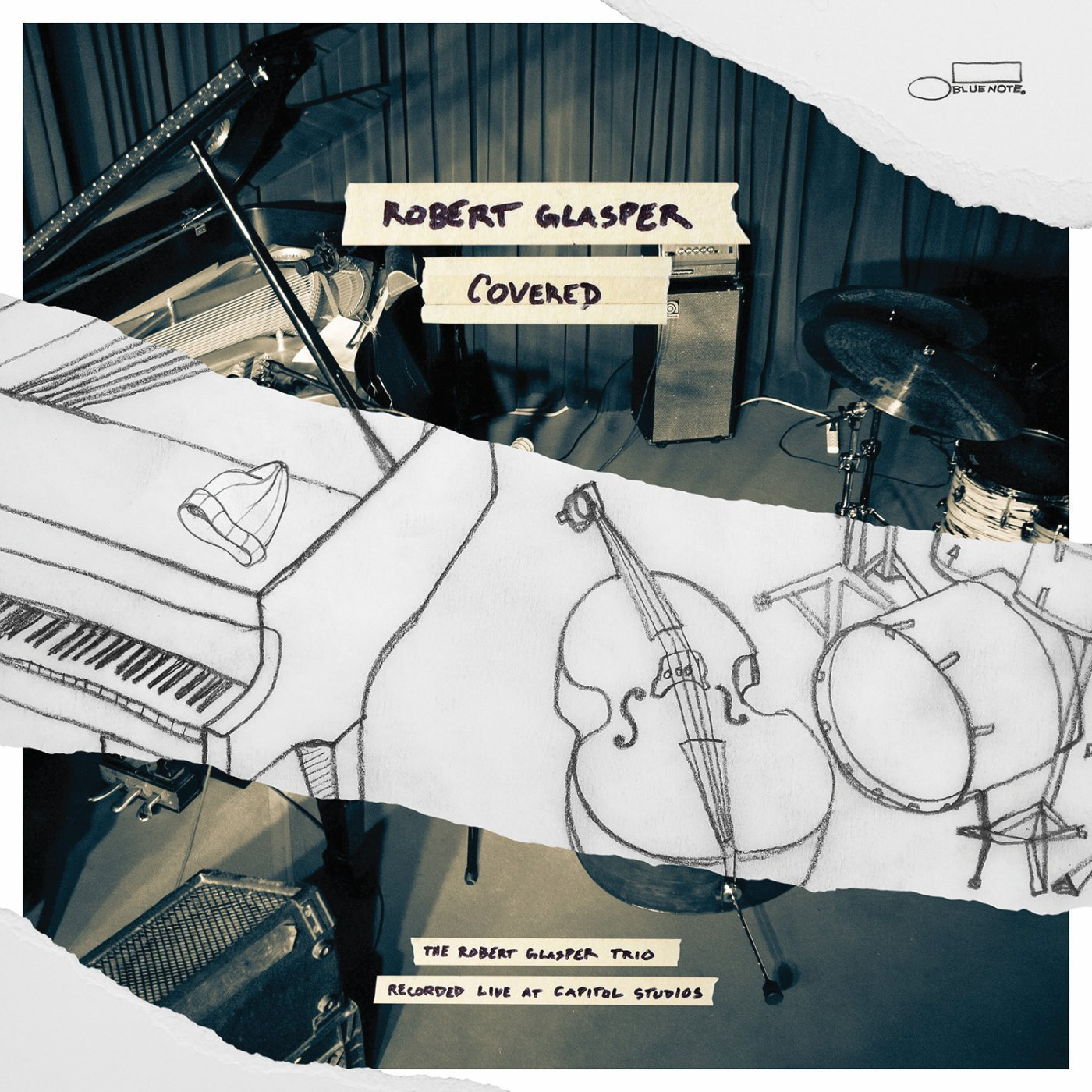 Covered (The Robert Glasper Trio Recorded Live At Capitol Studios) galbraith robert the silkworm pb galbraith robert