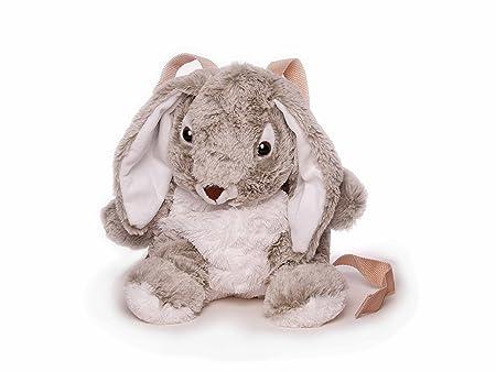 Inware 7607 - Petit Sac à dos pour les enfants, Lapin, gris/blanc