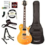 Sawtooth ST-H58S-TCNFL-KIT-1 Heritage Series Maple Top Electric Guitar, Tuscan Flame (Color: Tuscan Flame, Tamaño: Kit 1)