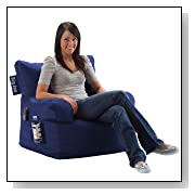Dorm Chair Bean Bag Sapphire Blue