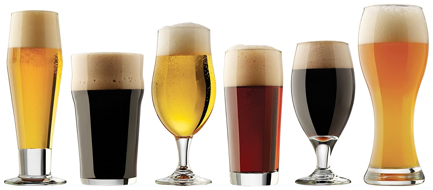 Libbey Craft Brews Collection Beer Glasses