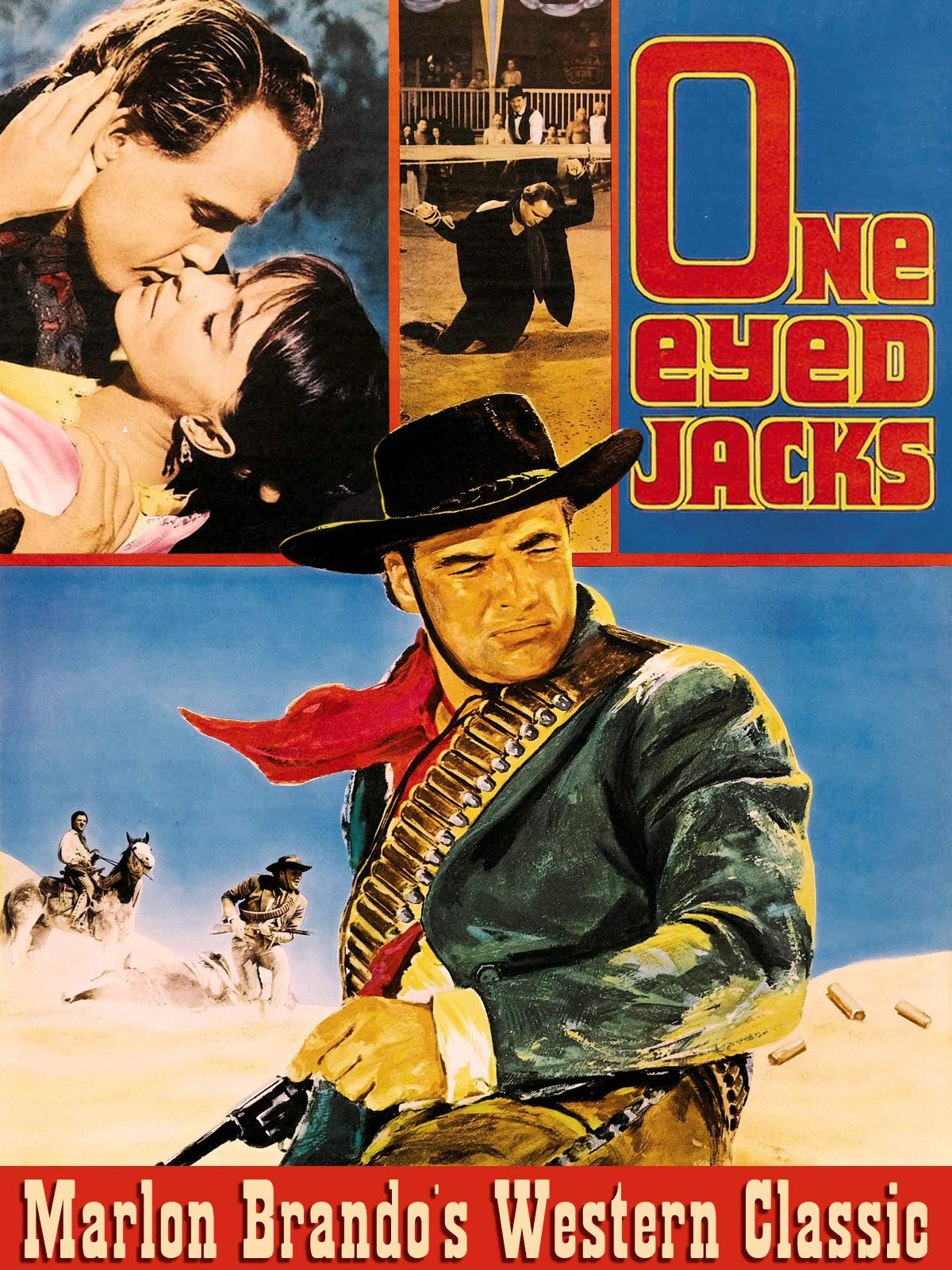 One Eyed Jacks - Marlon Brando's Western Classic on Amazon Prime Video UK