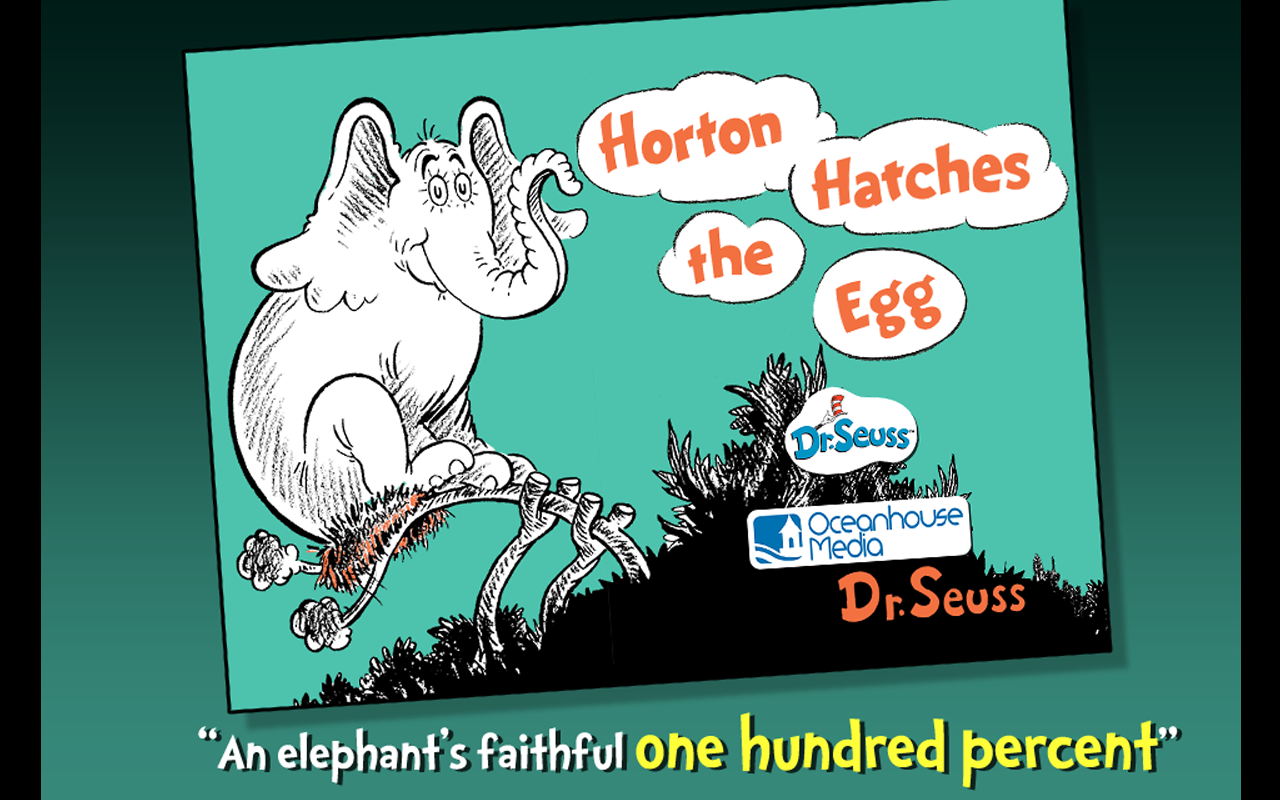 Horton Hatches The Egg By Dr Seuss - ISO 1048721995 Passenger cars ...