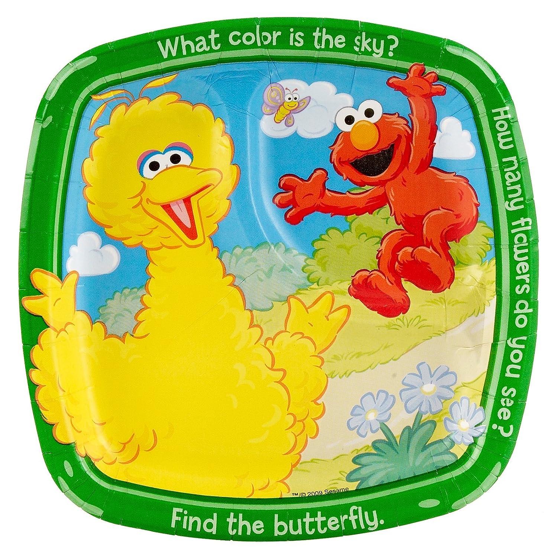 Sesame Street Paper Plates Birthday Wikii
