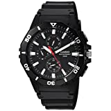 Casio Men's 'Sports' Quartz Resin Casual Watch, Color:Black (Model: MRW-400H-1AVCF)