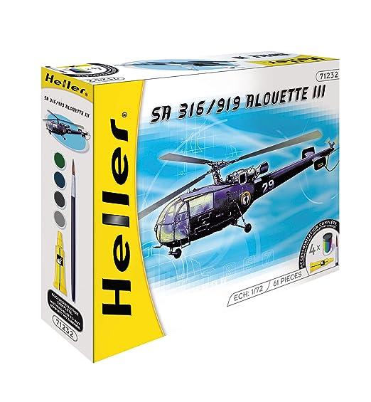 Heller - 50225 - Maquette - SA 316/319 Alouette III - Echelle 1:72