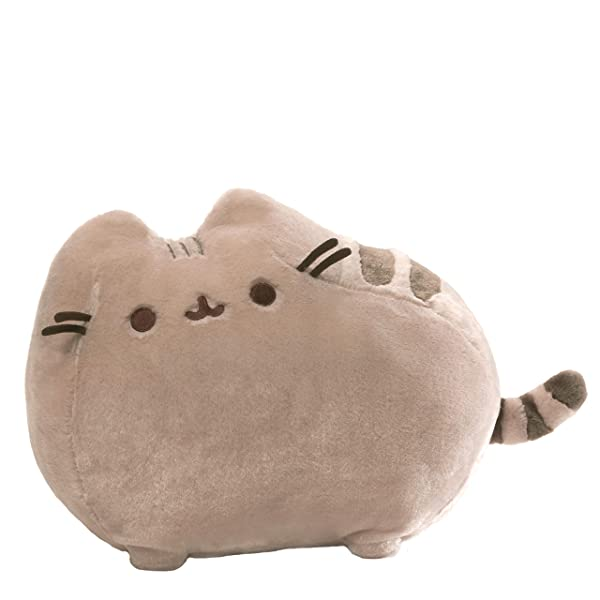 GUND Pusheen Cat Deluxe Plush Stuffed Animal, Gray, 19 (Color: Multi-colored, Tamaño: 19)