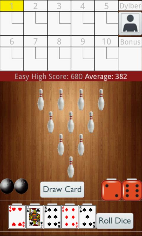 Bowling poker