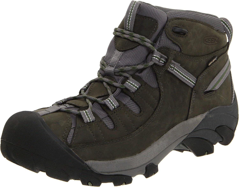 Amazon Keen Men S Targhee Ii Waterproof Hiking Shoes