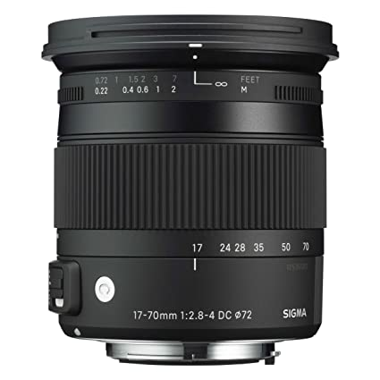 Sigma Objectif 17-70 mm F2,8-4 DC Macro OS HSM Contemporary - Monture Pentax